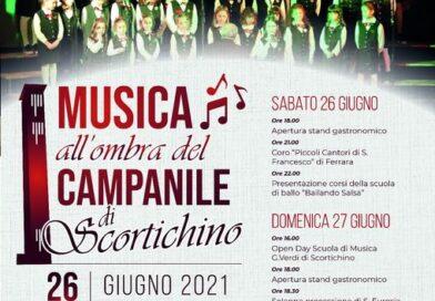 MUSICA ALL'OMBRA DEL CAMPANILE – SCORTICHINO (FE)